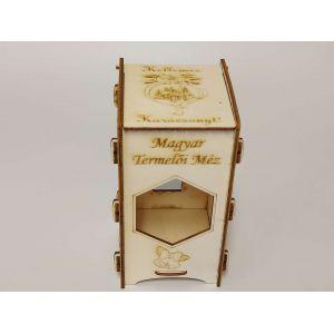 Karácsonyi doboz 1 db 380 ml OMME üveg